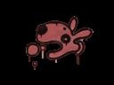 Sealed Graffiti | Popdog (Blood Red)