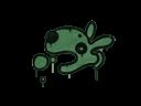 Sealed Graffiti   Popdog (Jungle Green)