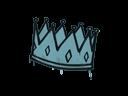 Sealed Graffiti | King Me (Wire Blue)