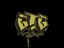 Sealed Graffiti | GTG (Tracer Yellow)