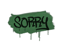 Sealed Graffiti | Sorry (Jungle Green)