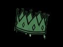 Sealed Graffiti | King Me (Jungle Green)
