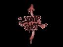 Sealed Graffiti | Jump Shot (Blood Red)