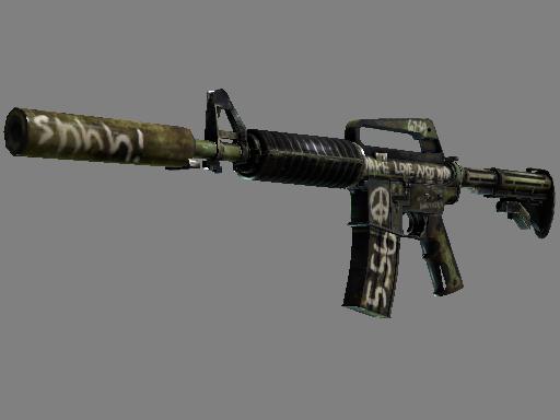 StatTrak™ M4A1-S | Flashback (Well-Worn)