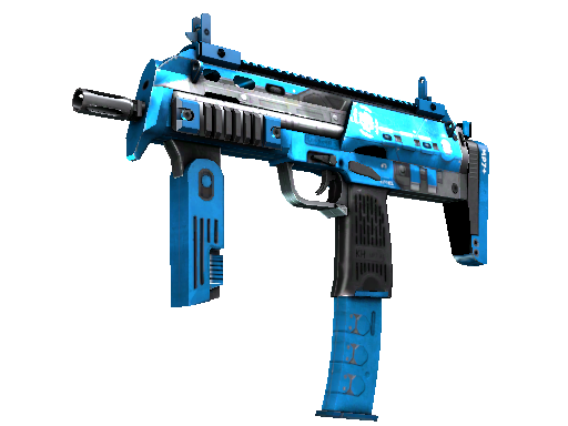 StatTrak™ MP7 | Cirrus (Minimal Wear)