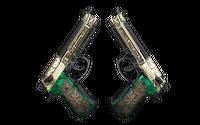 StatTrak™ Dual Berettas | Royal Consorts (Factory New)