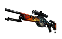 StatTrak™ SSG 08 | Dragonfire (Field-Tested)