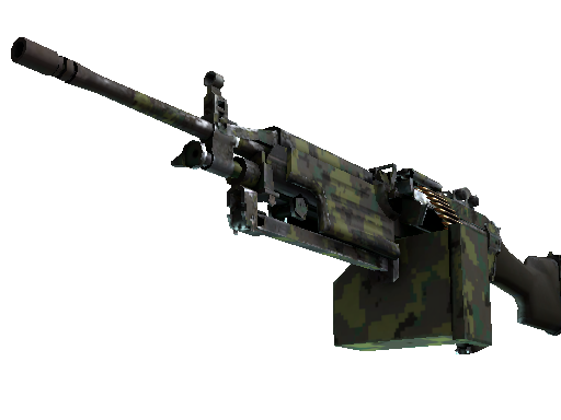 M249 | Jungle DDPAT (Well-Worn)