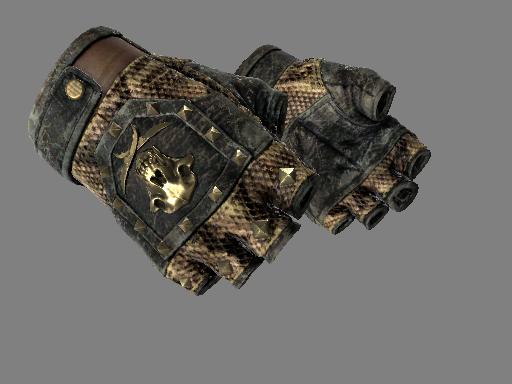 ★ Bloodhound Gloves   Snakebite (Battle-Scarred)