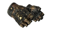 ★ Bloodhound Gloves | Snakebite (Battle-Scarred)