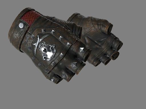 ★ Bloodhound Gloves   Charred (Well-Worn)