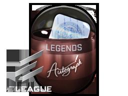 Autograph Capsule   Legends (Foil)   Atlanta 2017