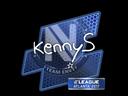 Sticker | kennyS | Atlanta 2017