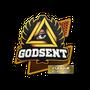 Sticker   GODSENT   Atlanta 2017