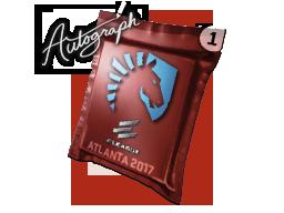 Autograph Capsule | Team Liquid | Atlanta 2017