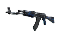 AK-47 | Blue Laminate (Well-Worn)