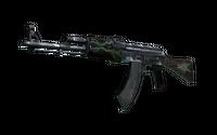 AK-47   Emerald Pinstripe (Battle-Scarred)