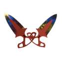 ★ Тычковые ножи | Мраморный градиент
