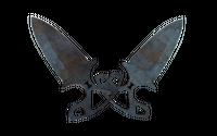 ★ Shadow Daggers | Rust Coat (Well-Worn)