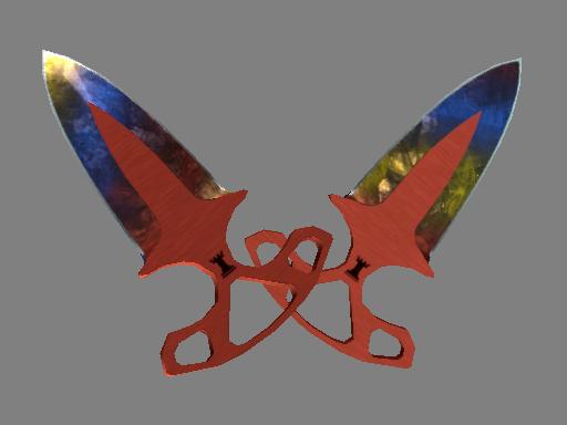 ★ Shadow Daggers | Marble Fade (Minimal Wear)