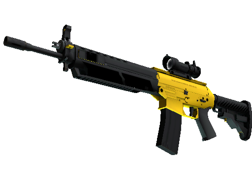 SG 553 | Bulldozer (Minimal Wear)