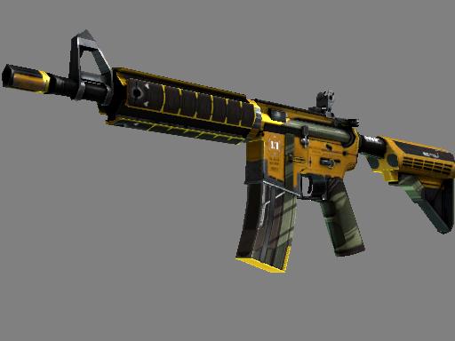 M4A4 | Buzz Kill (Well-Worn)