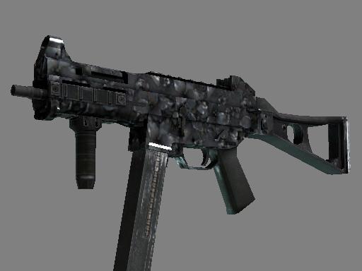 UMP-45 | Metal Flowers (Minimal Wear)