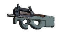 Souvenir P90 | Storm (Field-Tested)