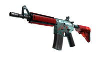 M4A4   Bullet Rain (Factory New)