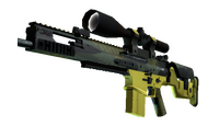SCAR-20 | Jungle Slipstream (Minimal Wear)