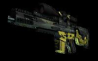 StatTrak™ SCAR-20 | Jungle Slipstream (Well-Worn)