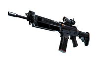 StatTrak™ SG 553   Phantom (Well-Worn)