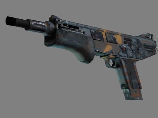 Souvenir MAG-7 | Irradiated Alert (Well-Worn)