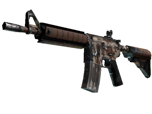 M4A4 | Desert Storm (Well-Worn)