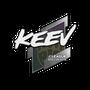 Sticker | keev | Boston 2018