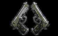 Souvenir Dual Berettas | Colony (Battle-Scarred)