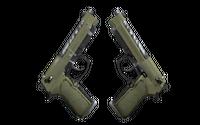 Souvenir Dual Berettas | Colony (Field-Tested)