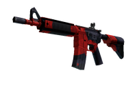 StatTrak™ M4A4   Evil Daimyo (Minimal Wear)