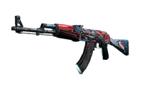 StatTrak™ AK-47 | Point Disarray (Battle-Scarred)