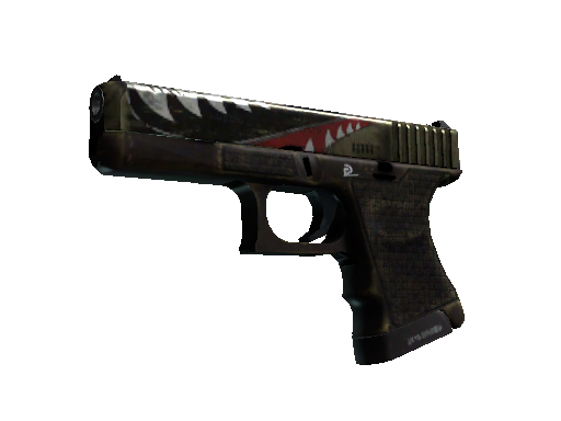 Glock-18 | Warhawk (Well-Worn)