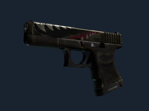 StatTrak™ Glock-18 | Warhawk (Battle-Scarred)