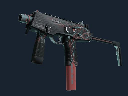 MP9 | Capillary (Well-Worn)