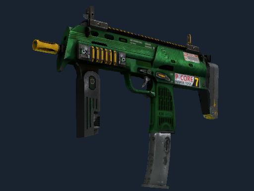 StatTrak™ MP7 | Powercore (Battle-Scarred)