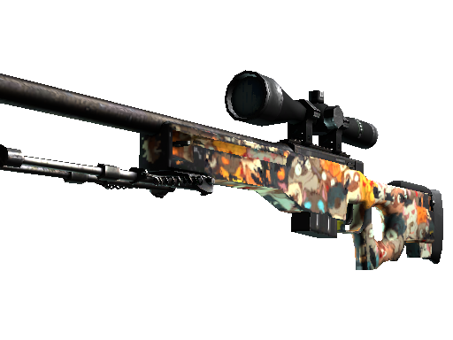 StatTrak™ AWP | PAW (Well-Worn)