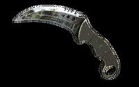 ★ Talon Knife   Boreal Forest (Battle-Scarred)