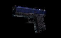 StatTrak™ Glock-18 | Blue Fissure (Well-Worn)