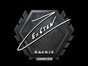 Sticker   Ex6TenZ   London 2018