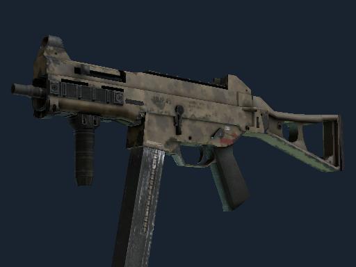 Souvenir UMP-45 | Mudder (Well-Worn)