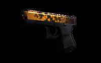 Souvenir Glock-18 | Reactor (Well-Worn)