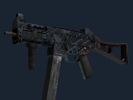 UMP-45 | Facility Dark (Well-Worn)